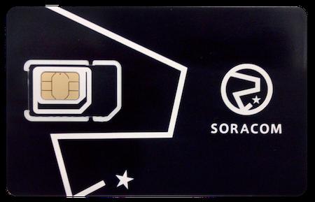 グローバル対応 SORACOM Air